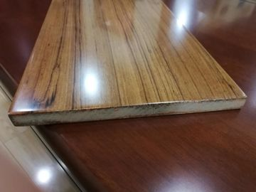 Fast Installation Rectangle Fiberboard Flooring With Glabrous And Smooth Surface